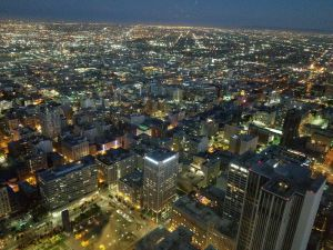 Skyspace LA Night